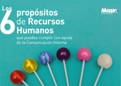 E-book de los 6 propósitos de Recursos Humanos