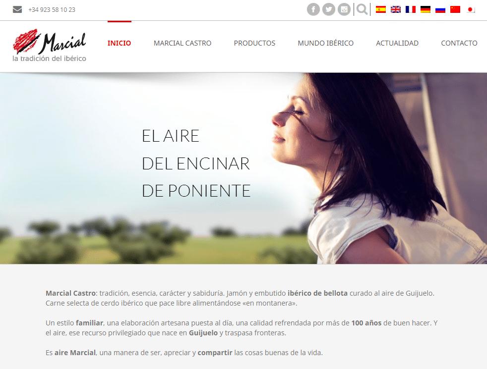 El aire de Marcial Castro web