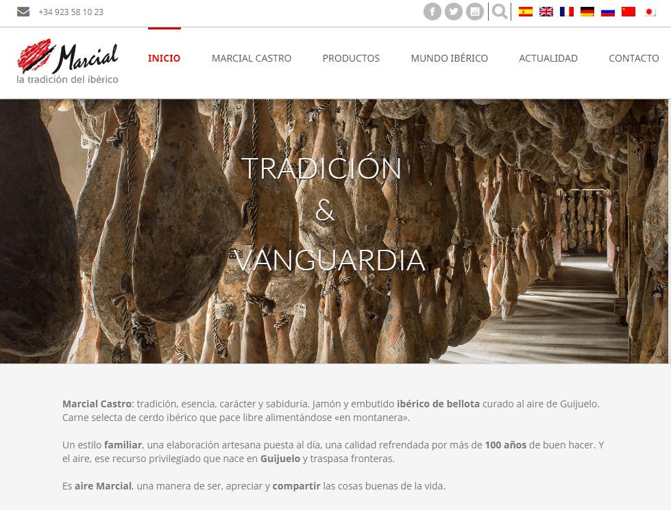 Tradicion y Vanguardia Marcial Castro