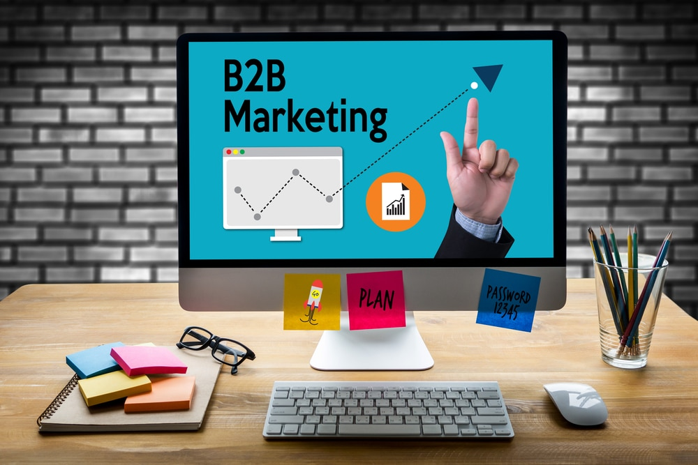 B2B Marketing Blog Mask