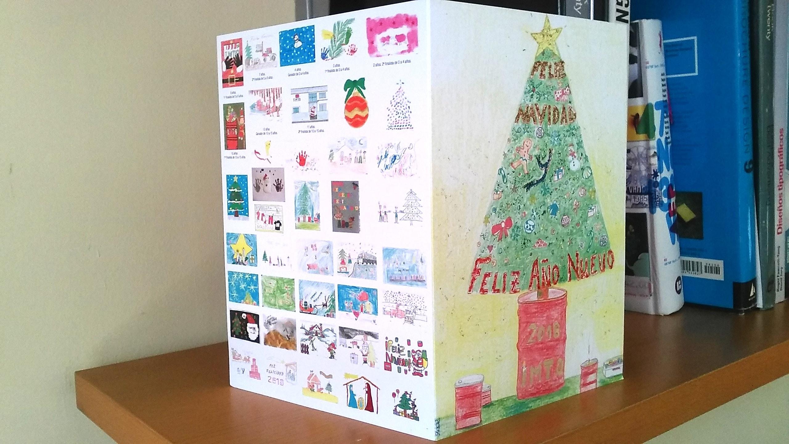 concurso de dibujo Navidad IMTO