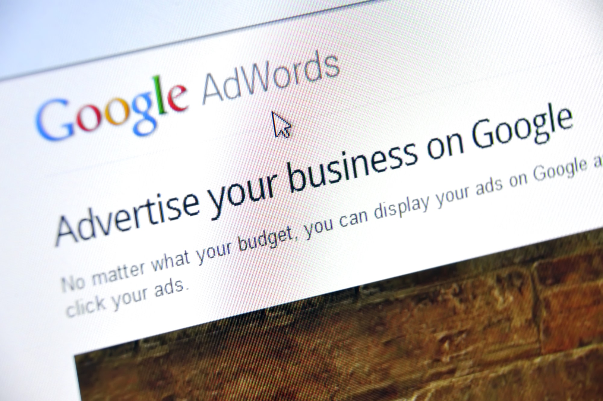 Advertise your business on Google
