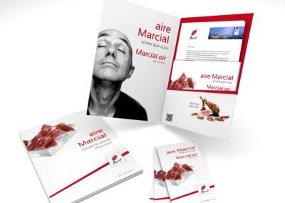 Marcial Guijuelo. «Aire Marcial, el aire que cura» Estrategia de comunicación