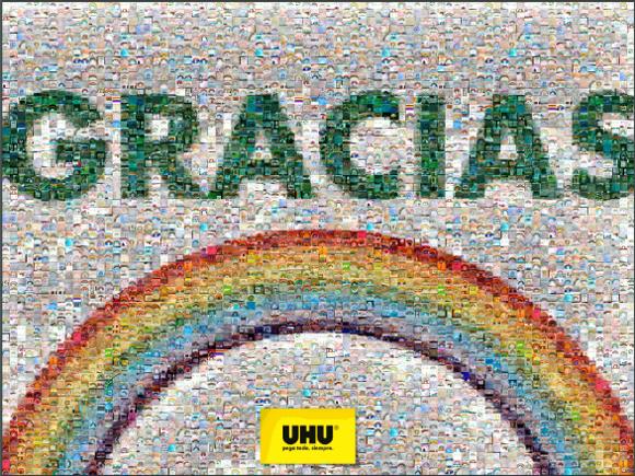 Arcoíris UHU