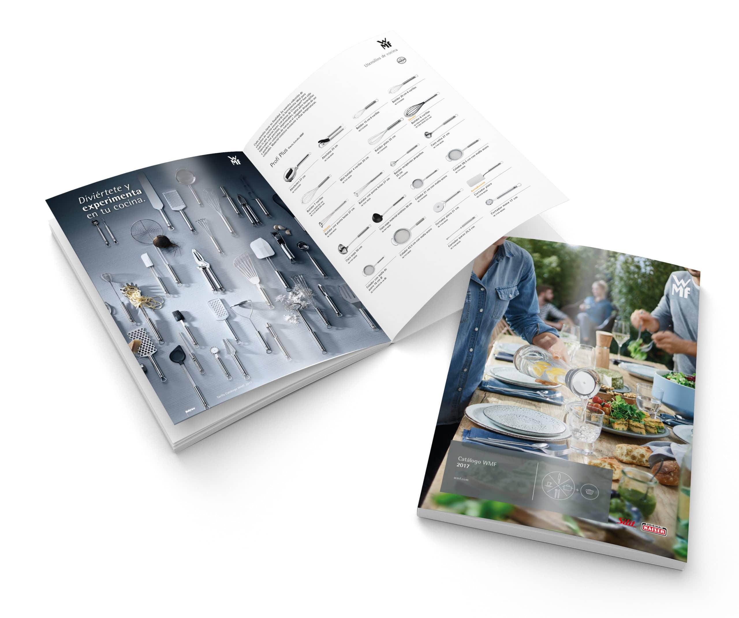 WMF y Mask Comunicación lanzan un nuevo catálogo