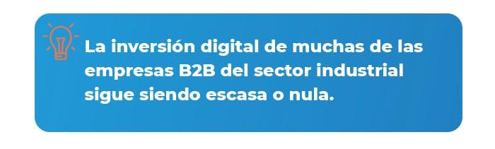 Inversión digital dato