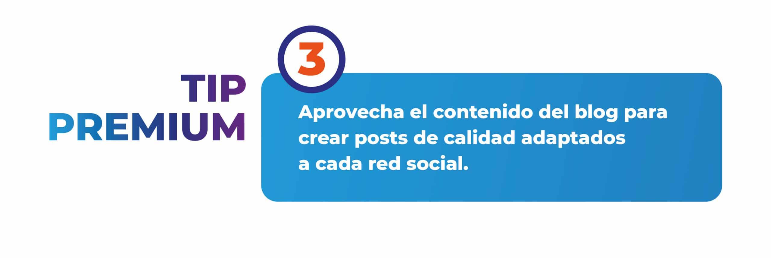 Tip 3 para escribir un blog