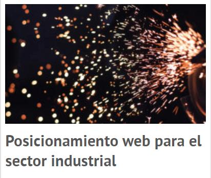 posicionamiento web para el sector industrial