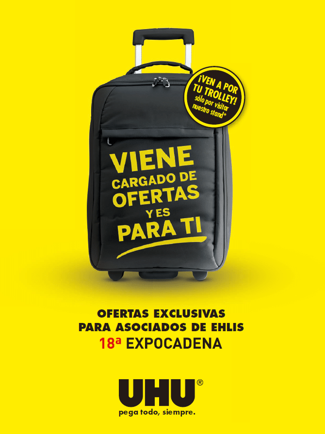 UHU 18 Expocadena  maleta