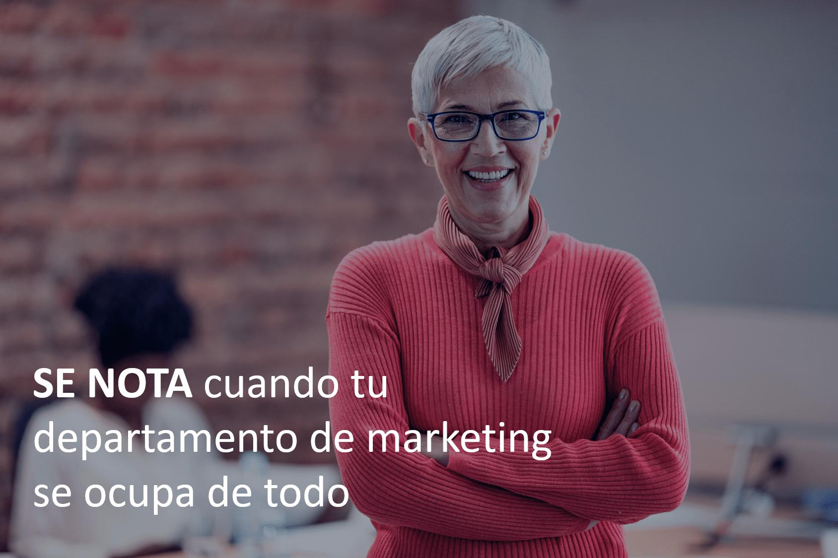 Outsourcing de marketing imagen contacto