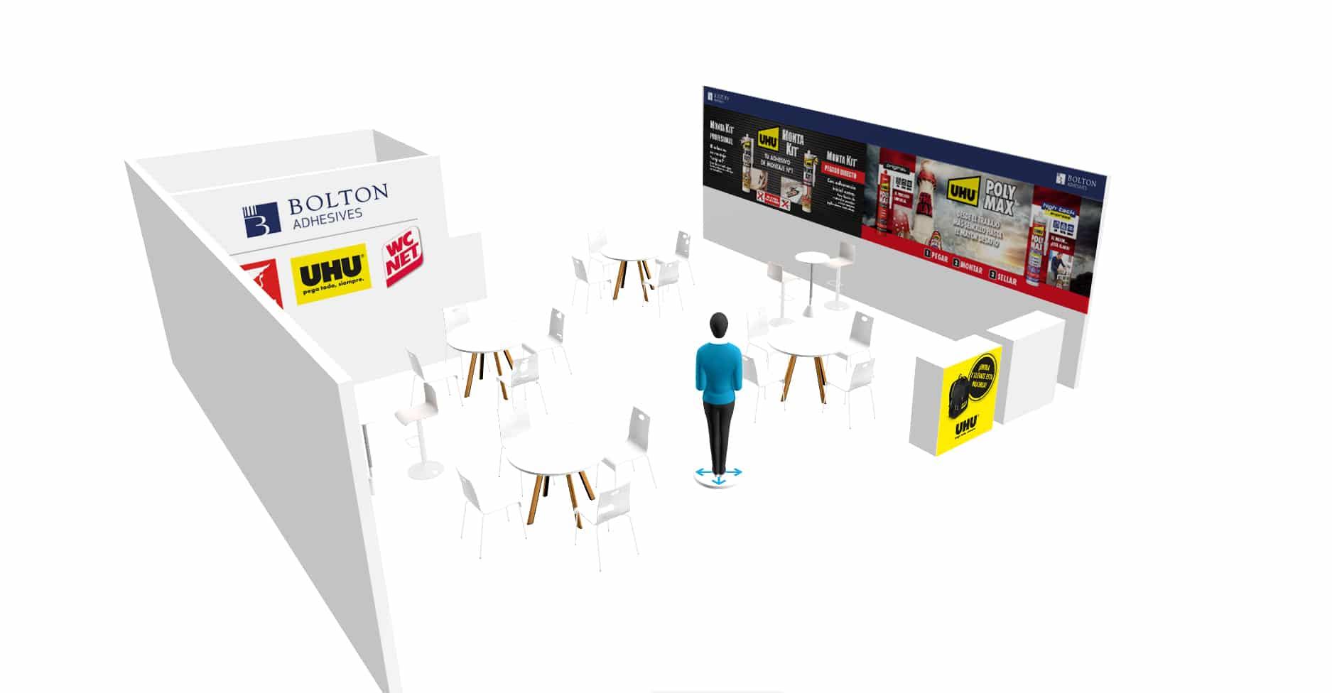Stand UHU 19 expo
