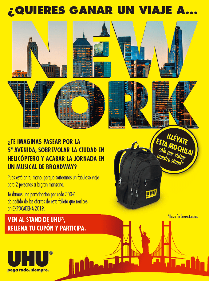 folleto 19 expo UHU NY