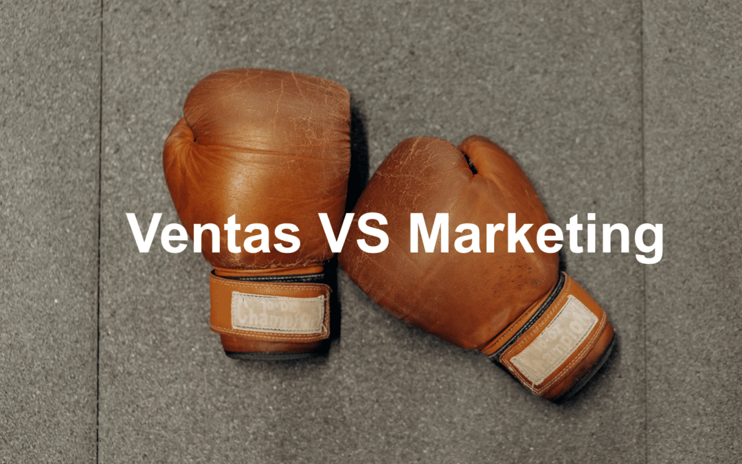 Marketing vs Ventas en una empresa industrial